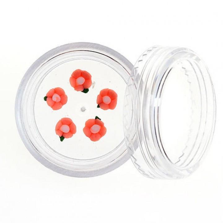 Акриловая лепка Роза №04