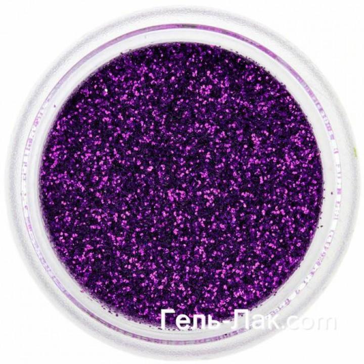 Блёстки для дизайна ногтей Фиолетовые Индиго №61