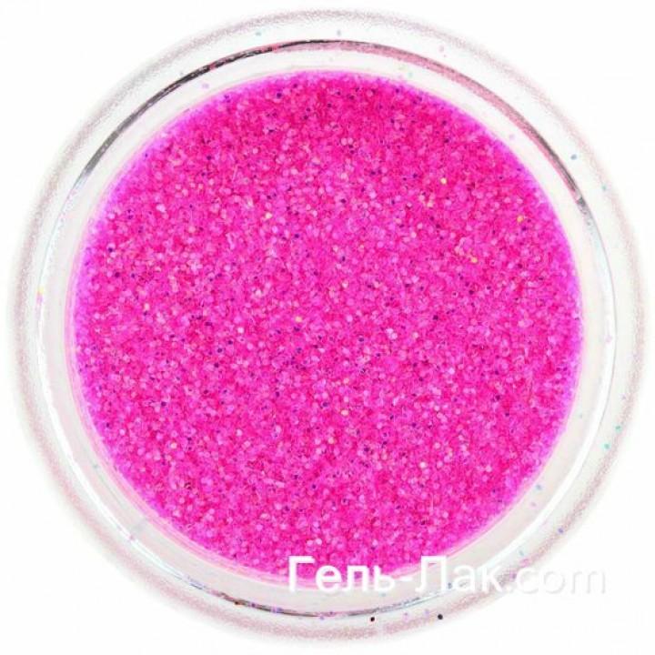 Блёстки для дизайна ногтей Розовые Барби №89