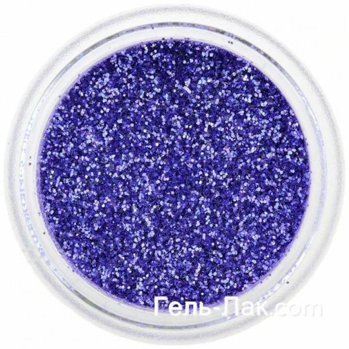 Блёстки для дизайна ногтей Сине Фиолетовые №52
