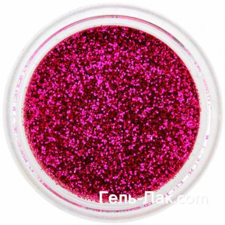 Блёстки для дизайна ногтей Вишнёво Розовые №63