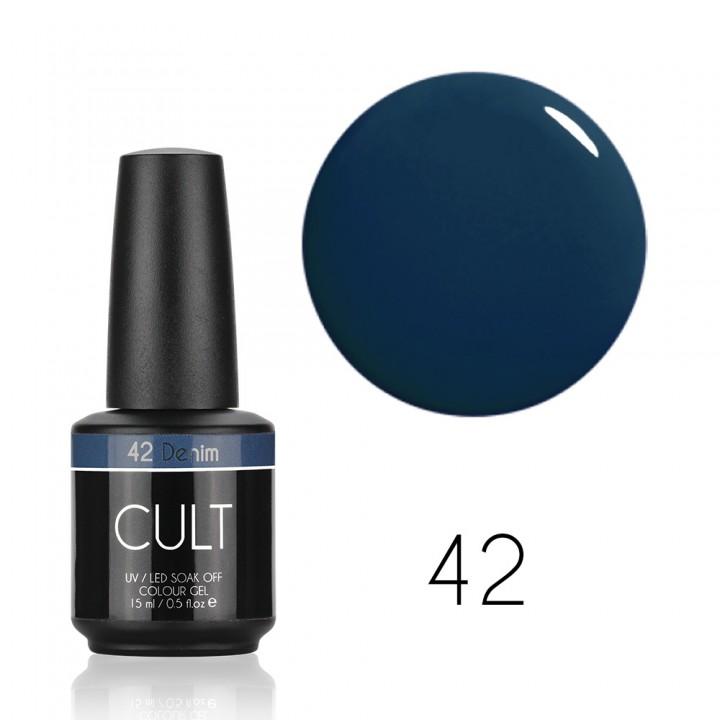 Гель лак для ногтей CULT №42 Denim