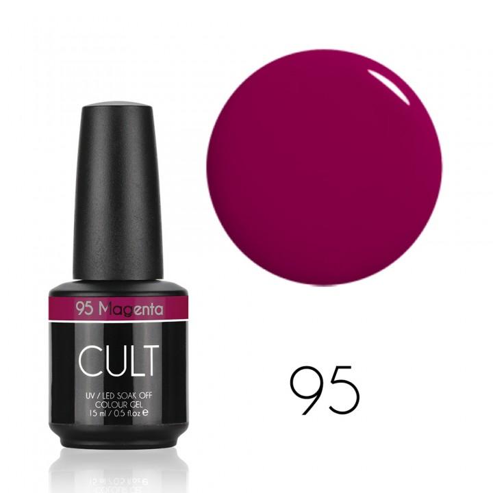 Гель лак для ногтей CULT (КУЛЬТ) №95 Magenta