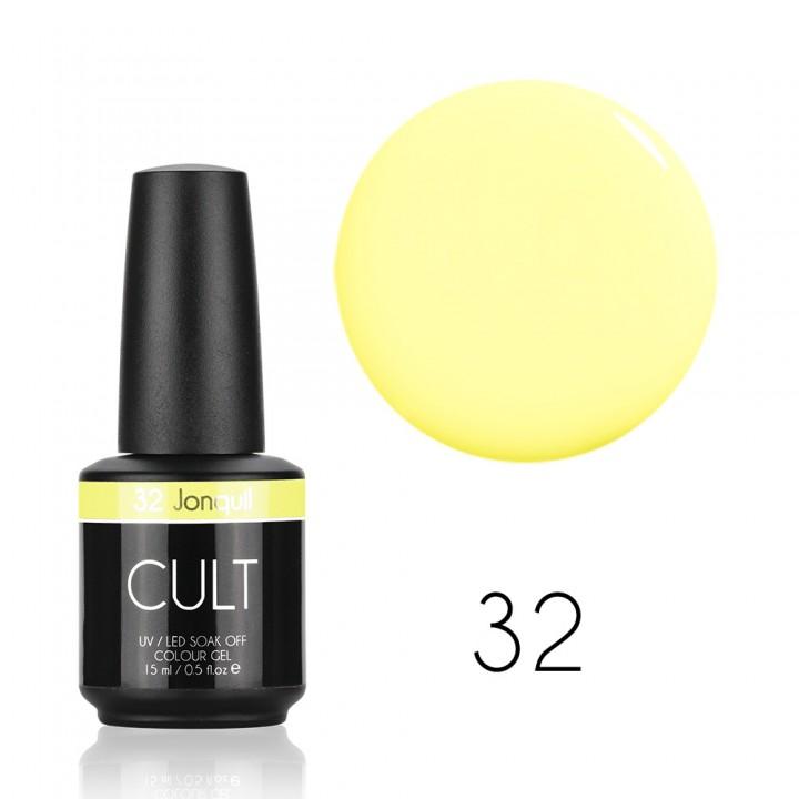 Гель лак для ногтей CULT №32 Jonquil