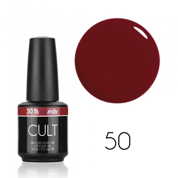 Гель лак для ногтей CULT №50 Burgundy