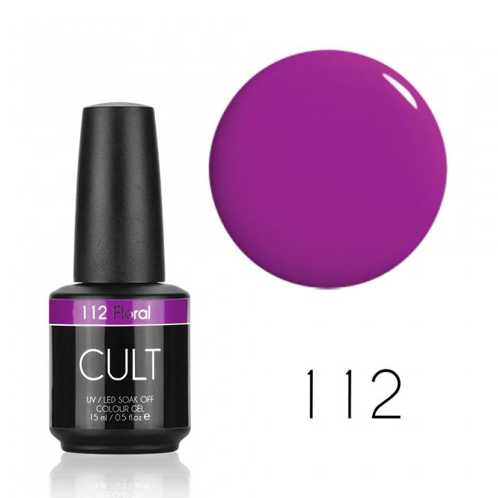 Гель лак для ногтей CULT (КУЛЬТ) №112 Floral
