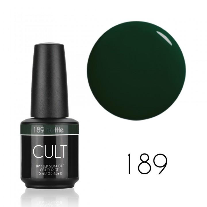 Гель лак для ногтей CULT (КУЛЬТ) №189 Bottle 15 мл