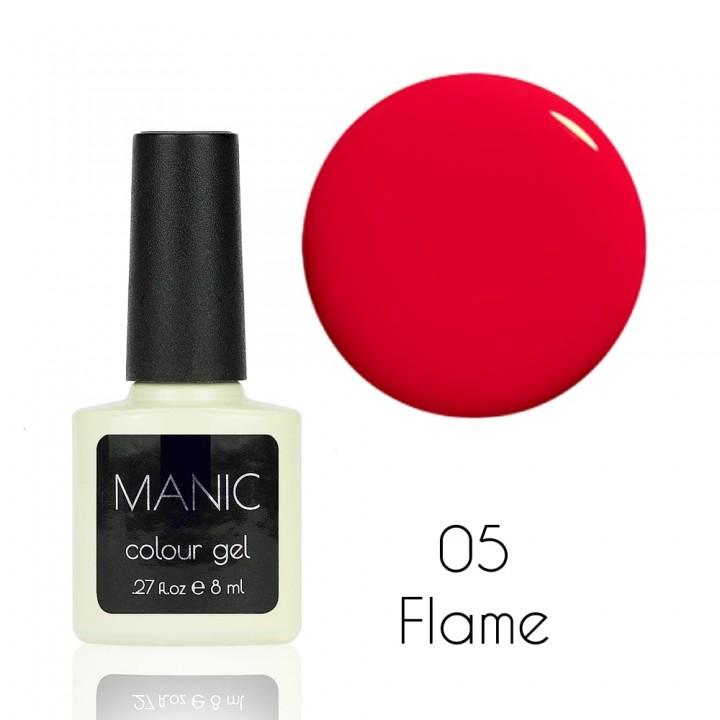 Гель лак для ногтей MANIC №05 Flame