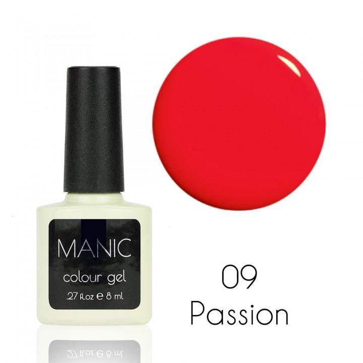 Гель лак для ногтей MANIC №09 Passion
