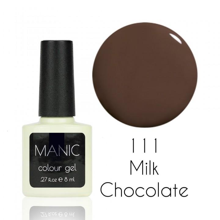 Гель лак для ногтей MANIC №111 Milk Chocolate