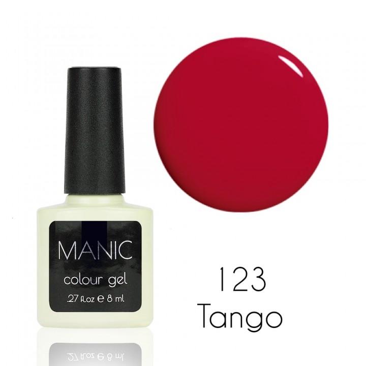 Гель лак для ногтей MANIC №123 Tango