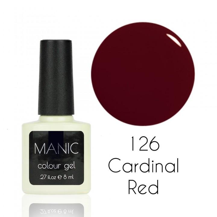 Гель лак для ногтей MANIC №126 Cardinal Red