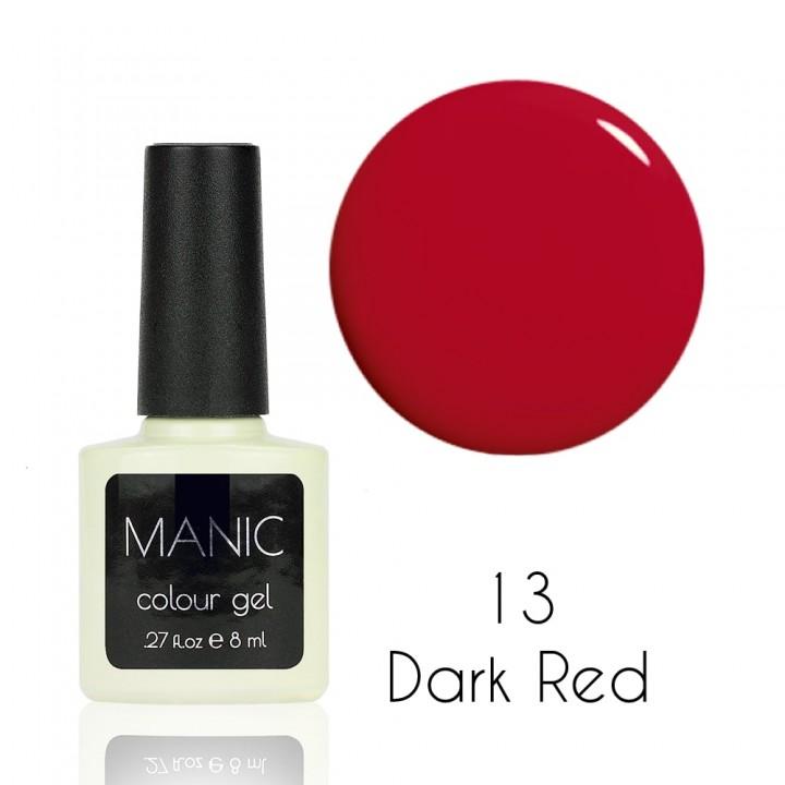 Гель лак для ногтей MANIC №13 Dark Red