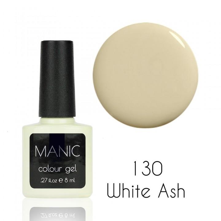 Гель лак для ногтей MANIC №130 White Ash