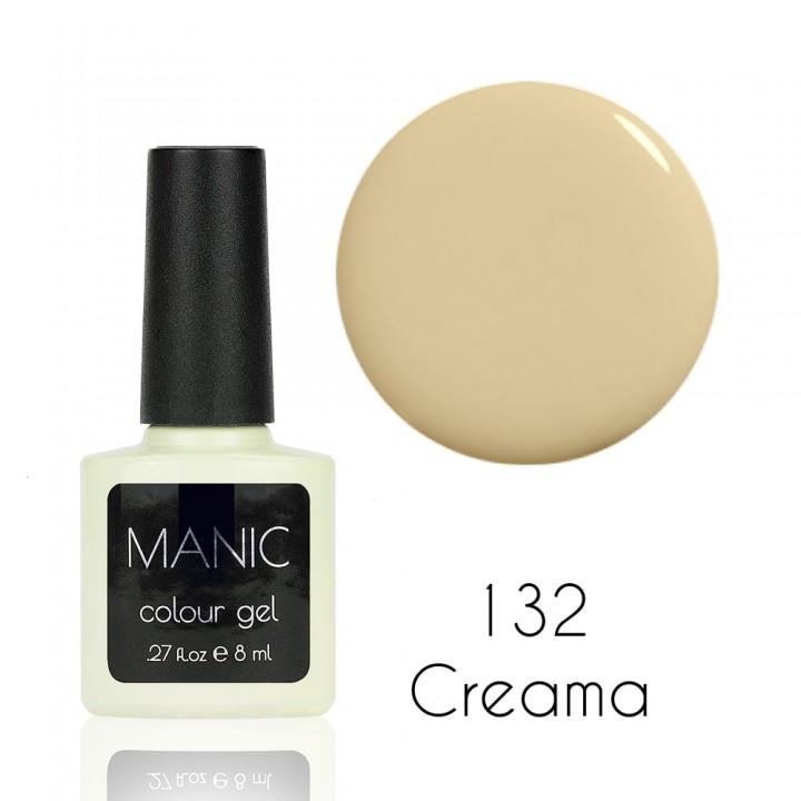 Гель лак для ногтей MANIC №132 Creama