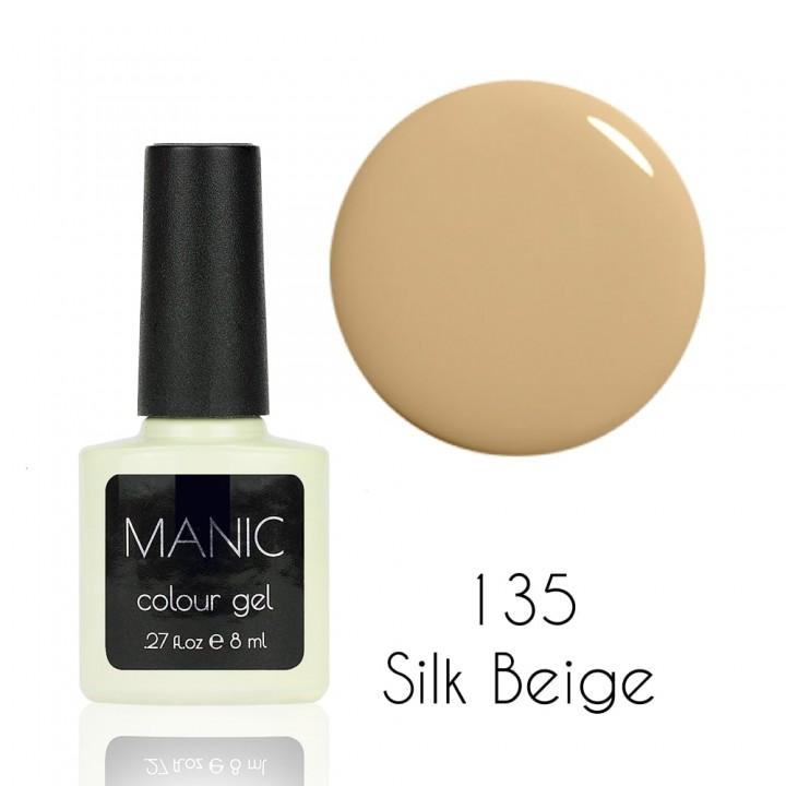 Гель лак для ногтей MANIC №135 Silk Beige