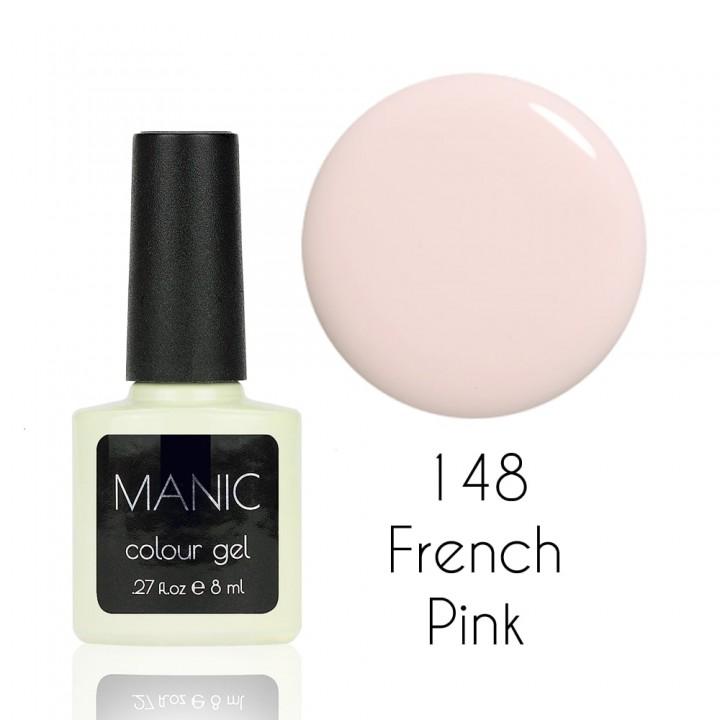 Гель лак для ногтей MANIC №148 French Pink