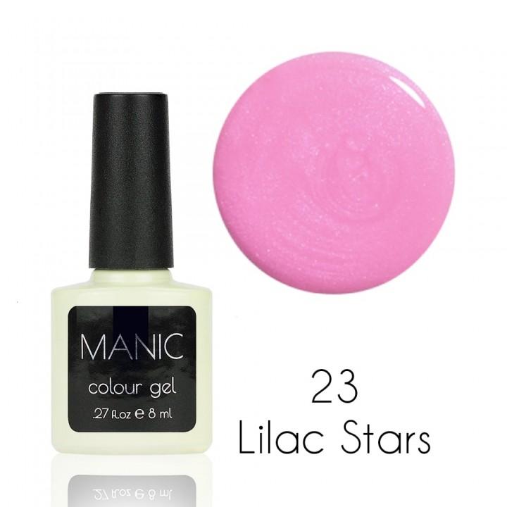 Гель лак для ногтей MANIC №23 Lilac Stars