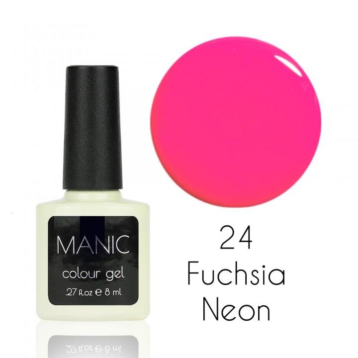 Гель лак для ногтей MANIC №24 Fuchsia Neon