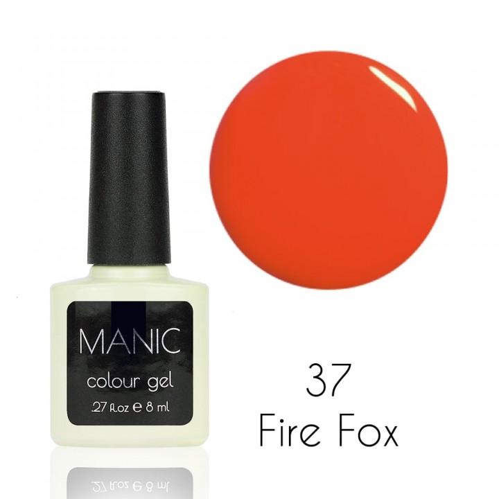 Гель лак для ногтей MANIC №37 Fire Fox