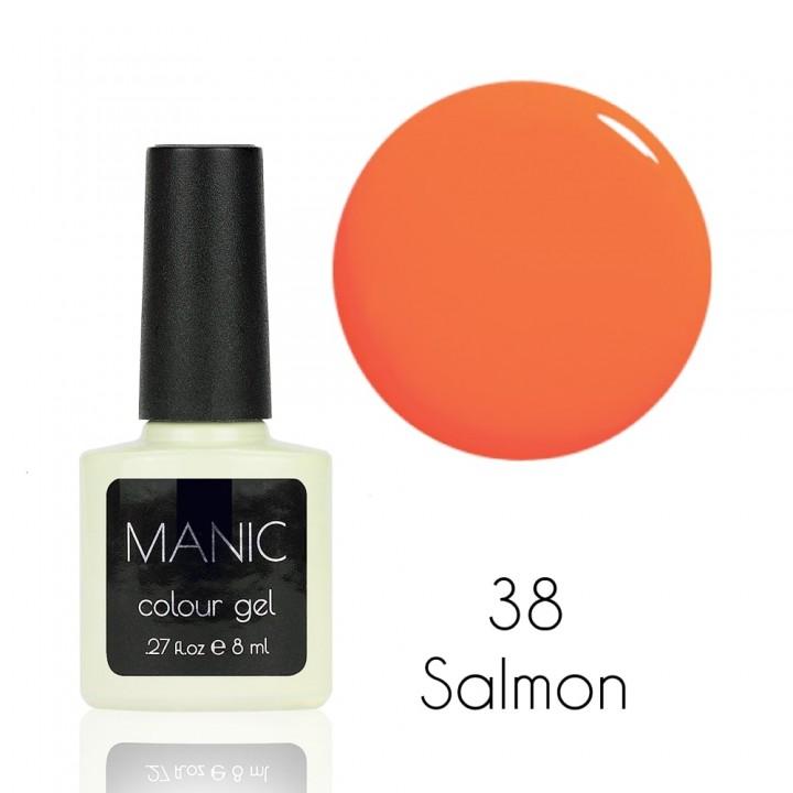 Гель лак для ногтей MANIC №38 Salmon