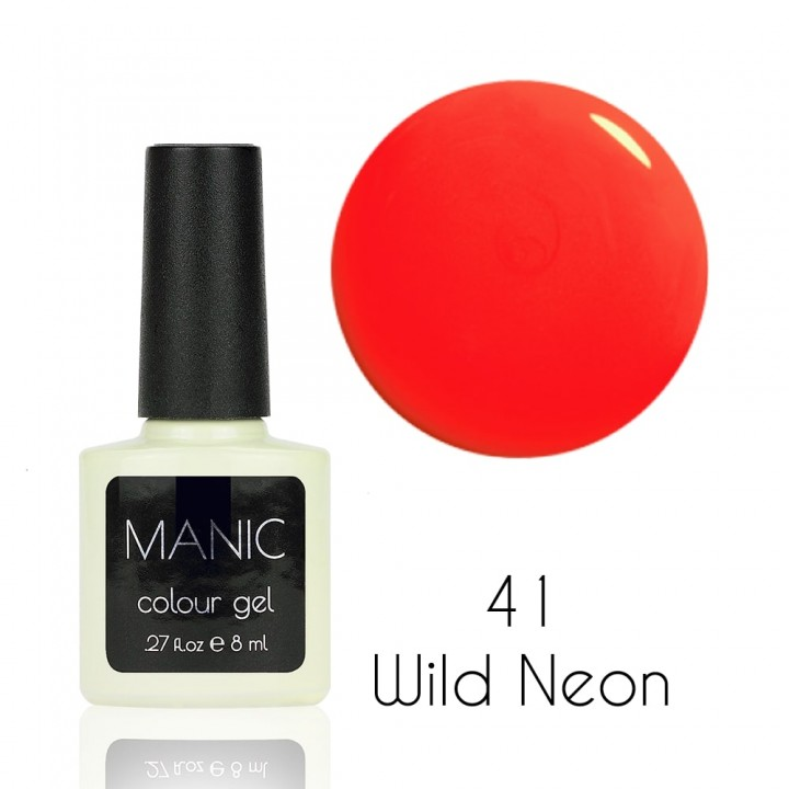 Гель лак для ногтей MANIC №41 Wild Neon