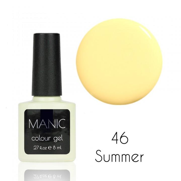 Гель лак для ногтей MANIC №46 Summer