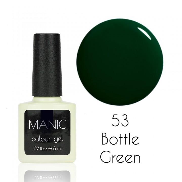 Гель лак для ногтей MANIC №53 Bottle Green