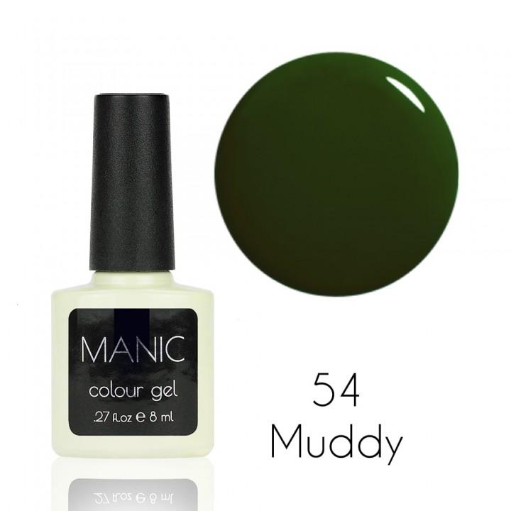 Гель лак для ногтей MANIC №54 Muddy