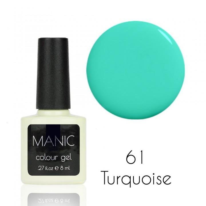Гель лак для ногтей MANIC №61 Turquoise