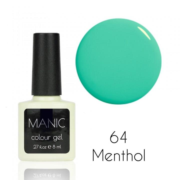 Гель лак для ногтей MANIC №64 Menthol