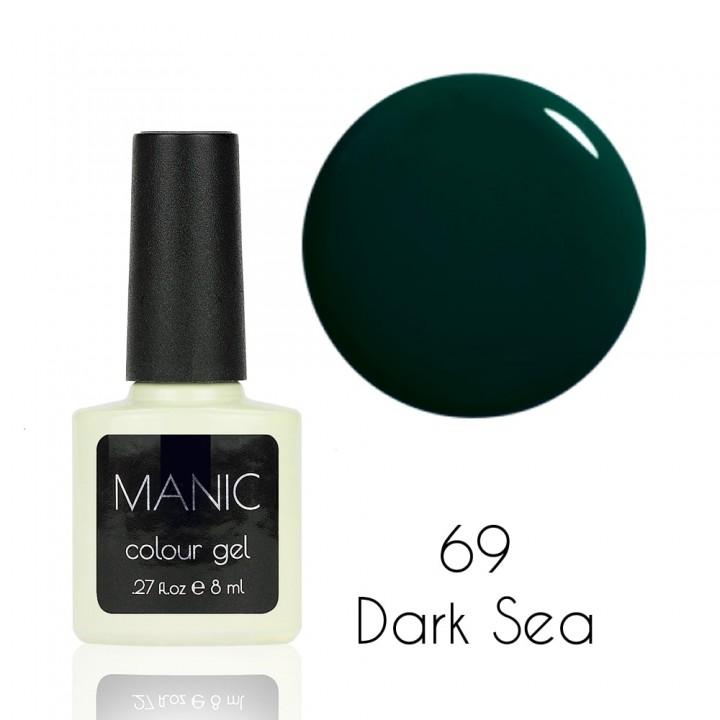 Гель лак для ногтей MANIC №69 Dark Sea