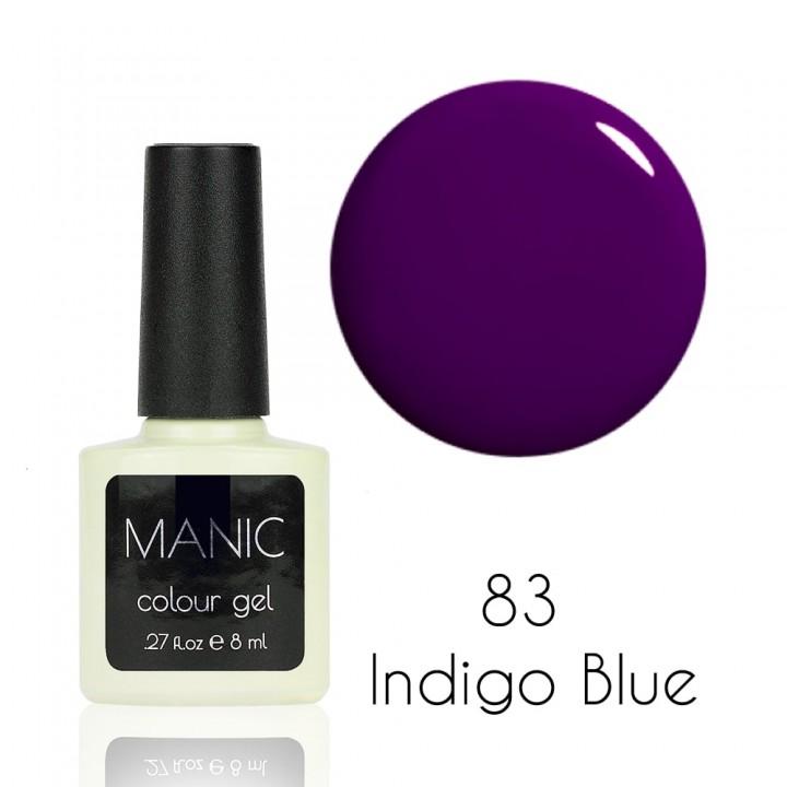 Гель лак для ногтей MANIC №83 Indigo Blue
