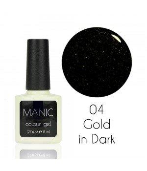 Гель лак MANIC №04 Gold in Dark