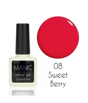 Гель лак MANIC №08 Sweet Berry