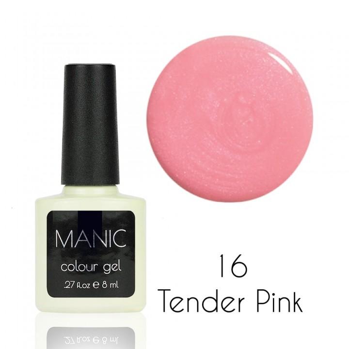 Гель лак для ногтей MANIC №16 Tender Pink
