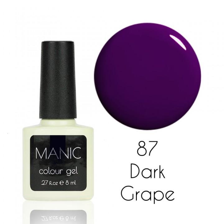 Гель лак для ногтей MANIC №87 Dark Grape