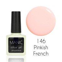 Гель лак MANIC №146 Pinkish French