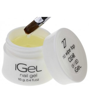 Топ гель No Wipe Top Gel Clear iGel №27