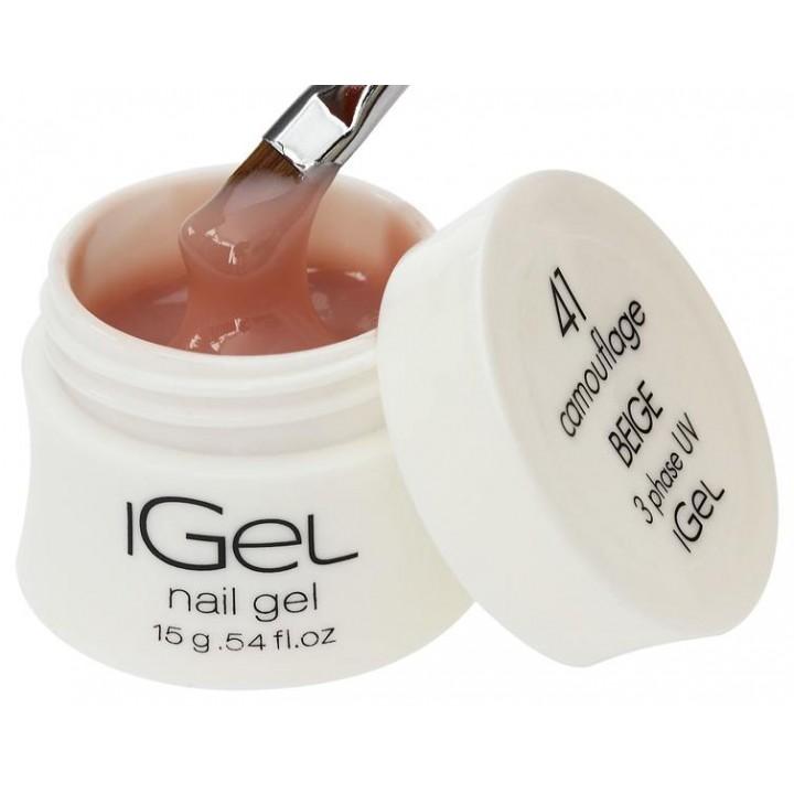 Гель для наращивания ногтей Beige iGel №41