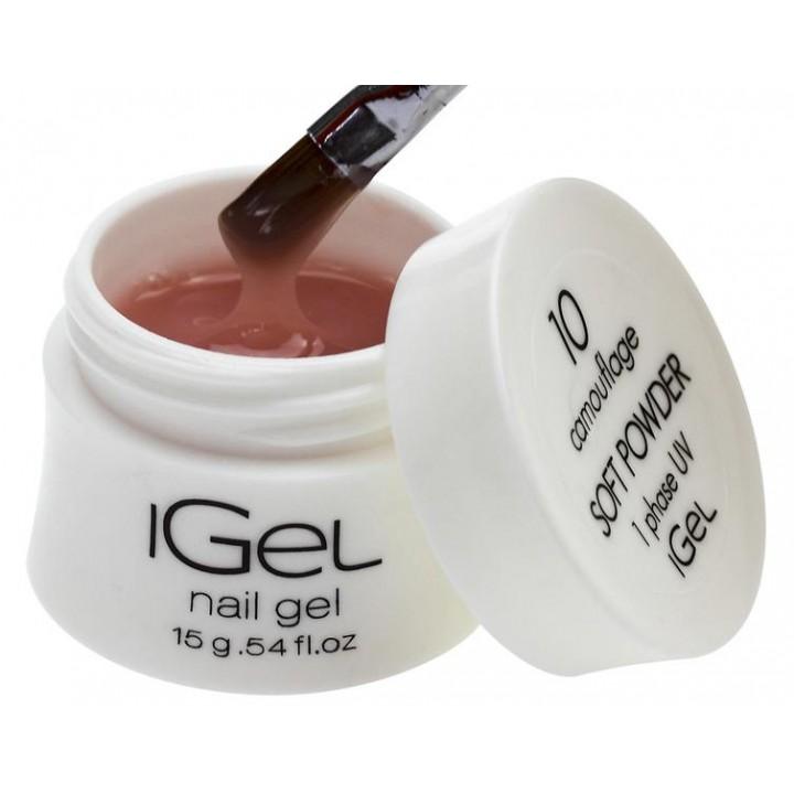 Гель для наращивания ногтей Soft Powder iGel №10
