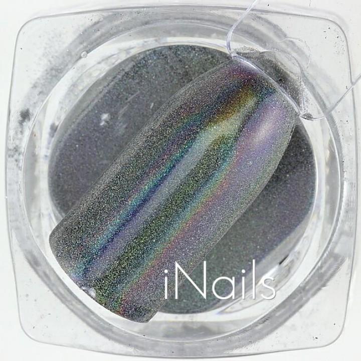 Голографическая Пудра (Втирка) для дизайна ногтей №10