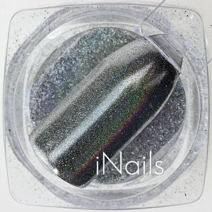 Голографическая Пудра (Втирка) для дизайна ногтей №21