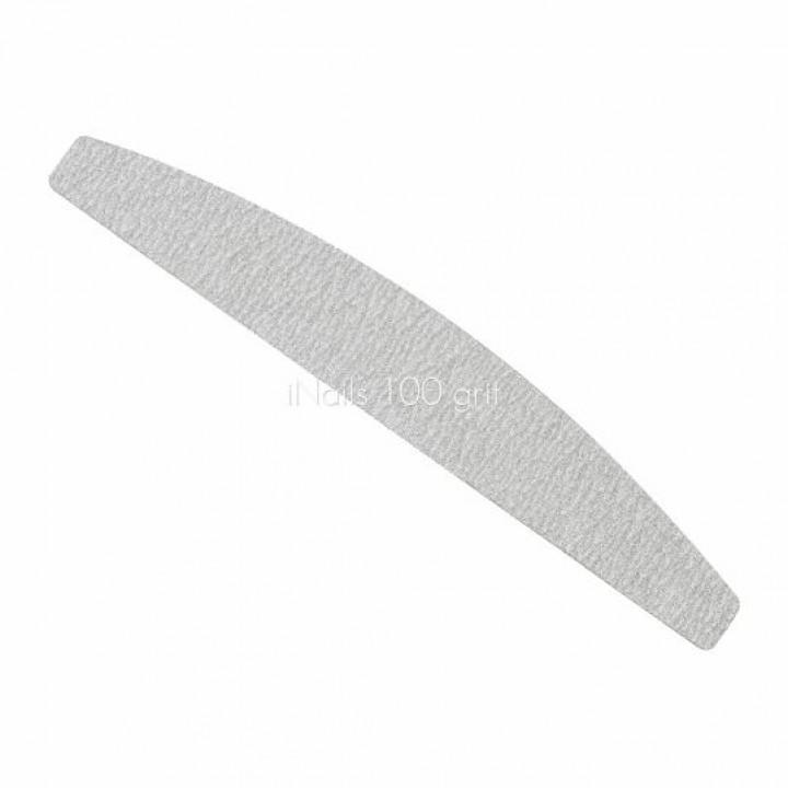 Пилочка для ногтей (сменный файл) лодка, полумесяц 100 iNails