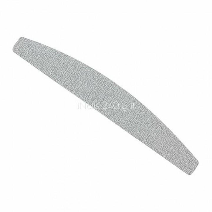 Пилочка для ногтей (сменный файл) лодка, полумесяц 240 iNails