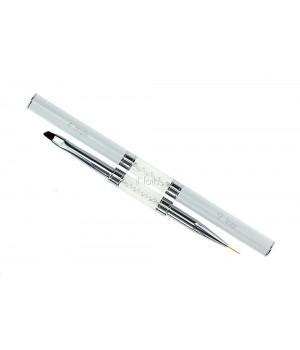 Кисть для дизайна ногтей Angle #4 / Liner #9
