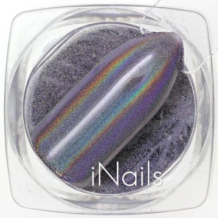 Призма (Втирка) голографическая для дизайна ногтей №01