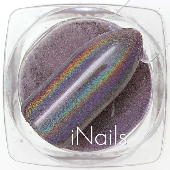 Призма (Втирка) голографическая для дизайна ногтей №04