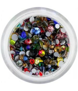 Стразы для ногтей Crystal MIX 1440 шт.
