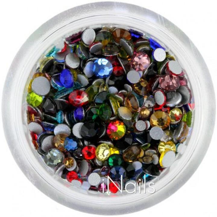Стразы Crystal для дизайна ногтей MIX 1440 шт